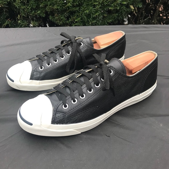 75890743d992 Converse Other - 🌟Host Pick🌟 Converse Jack Purcell Leather Black